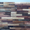 wood wall cladding 3D